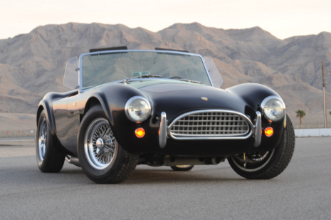 50th Anniversary Shelby Cobra. Photo courtesy of Shelby American, Inc.