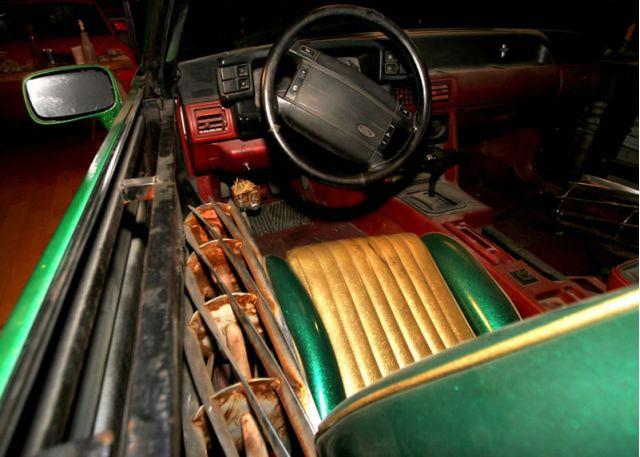 Monster Garage Custom Switchblade Mustang Sells At Barrett ...