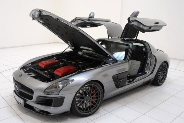 700 Horsepower Mercedes-Benz SLS AMG by Brabus