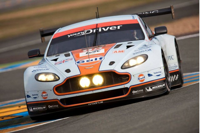 #95 2013 Aston Martin Vantage GTE race car