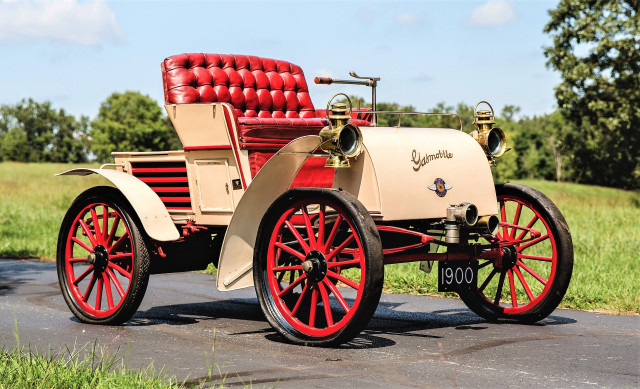 A 1900 Gasmobile Runabout is the earliest car at auction