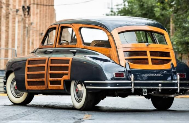 A 1948 Packard woody wagon will be featured in Chicago | Mecum Auctions photos