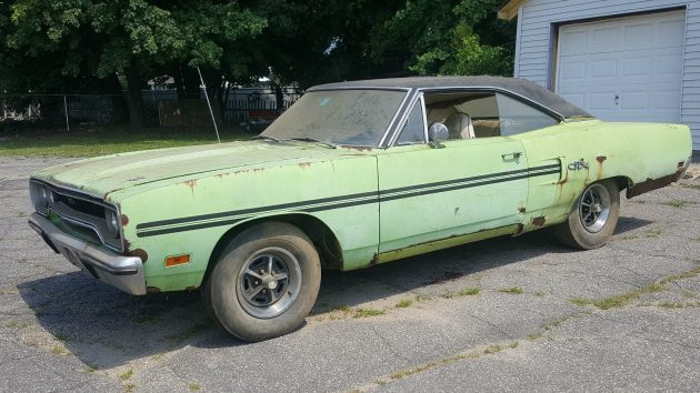 A 1970 Plymouth GTX barn find