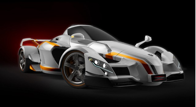 Spain S A D Tramontana Working On Horsepower Xtr Supercar