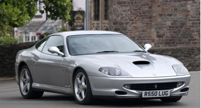 A. Kahn Design founder Afzal Kahn's first Ferrari was a 1998 550 Maranello