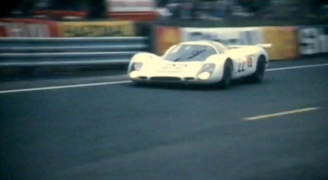 A Porsche 908 at Le Mans