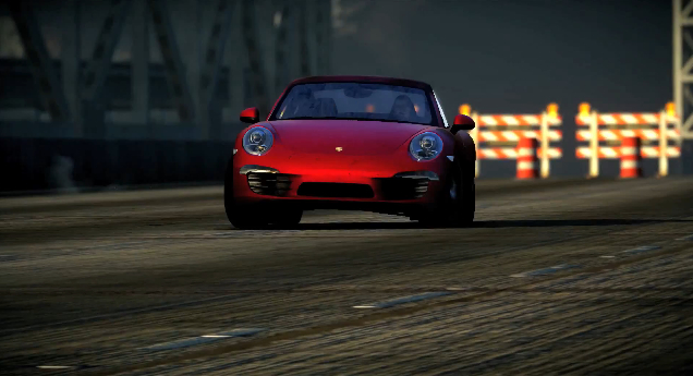 A Porsche 911 from Need For Speed: The Run