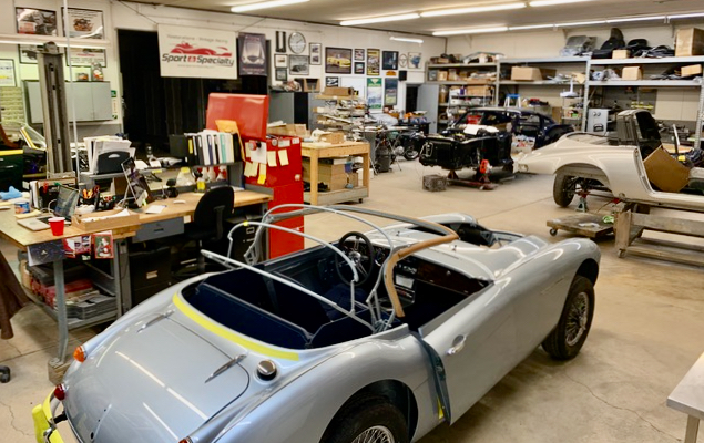 A visit to Sport and Specialty shop