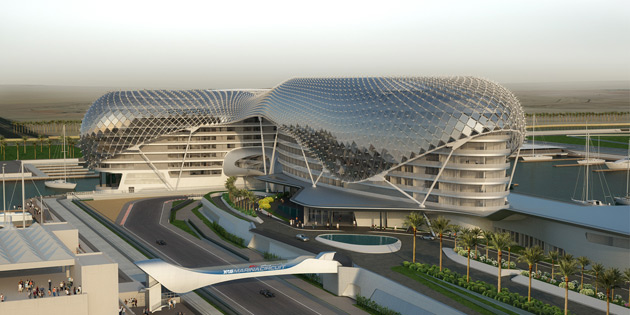 New track will be located on Yas Island and feature several underground passes