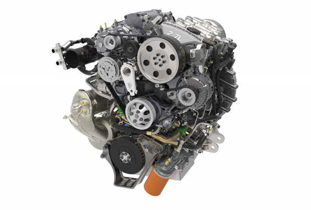 Achates 2.7-liter opposed-piston gasoline compression-igntion engine
