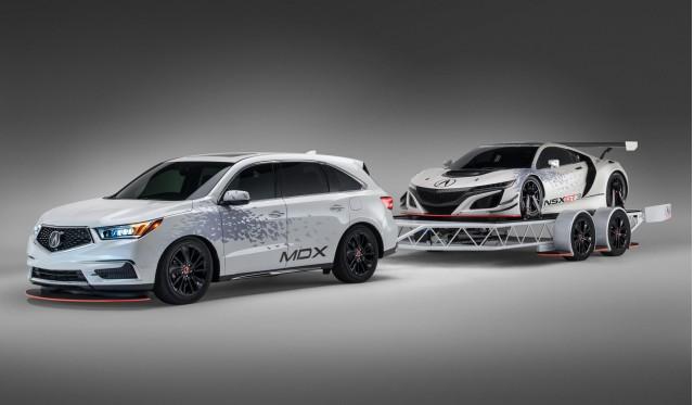Acura MDX Custom Trailer concept, 2016 SEMA show