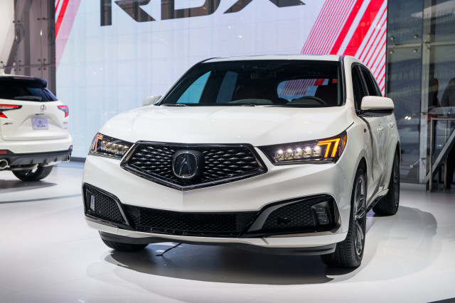 2019 Acura MDX A-Spec, 2018 New York auto show