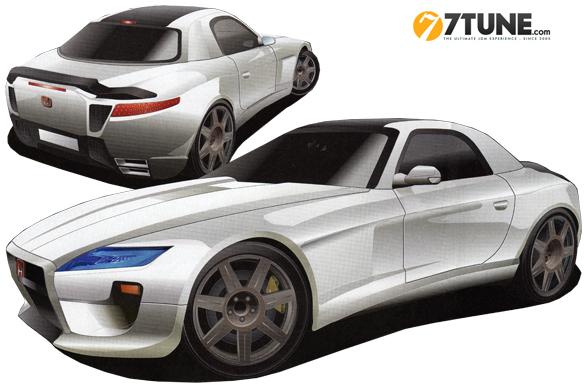 Acura Super Hybrid Sports