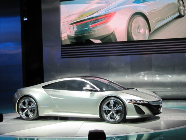 Acura Nsx Concept All Wheel Drive Hybrid Supercar For 2015