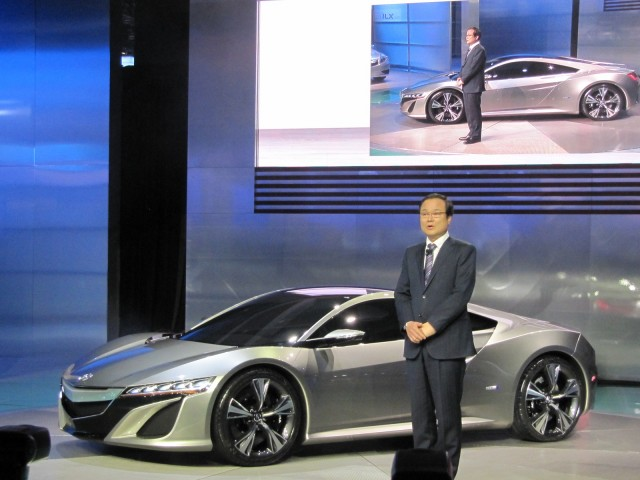 New Acura Nsx To Be Engineered And Built In Us