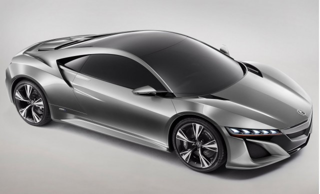 2013 Acura RL To Feature NSX Hybrid All-Wheel Drive System