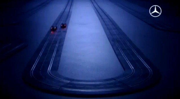 AdWatch: Mercedes-Benz E-Class Estate Ad Goes Off-Track