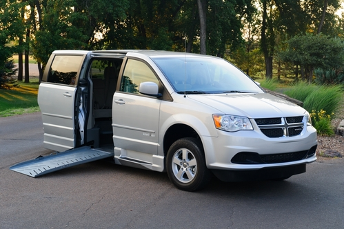 Adaptive equipment - ramp on Dodge Grand Caravan