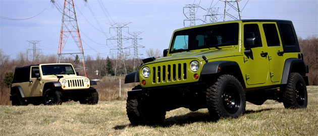 The hardcore Jeep J8 is a stripped-down, no-nonsense offroader