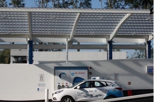 Air Liquide hydrogen fueling station