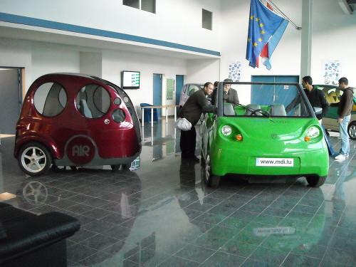 Airpod compressed-air cars, 2009