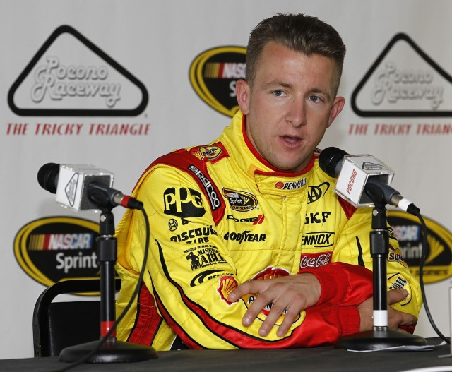 AJ Allmendinger. Photo: Todd Warshaw/Getty Images for NASCAR