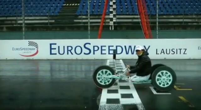 Alex Zanardi at the Lausitzring