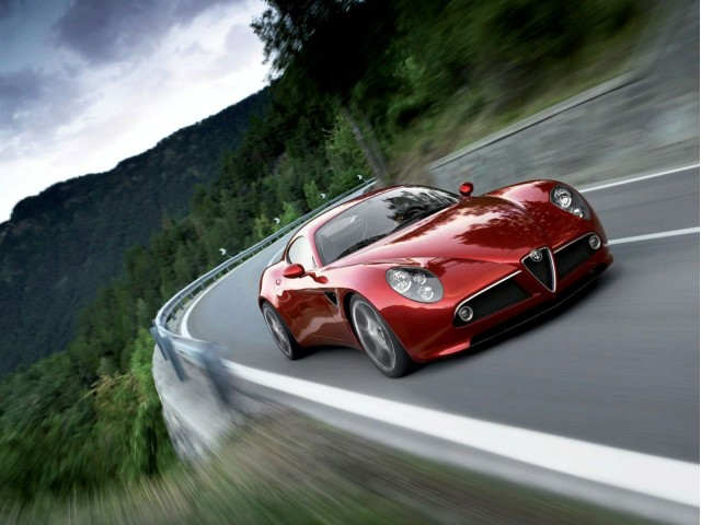 Alfa Romeo 8C GTA limited edition