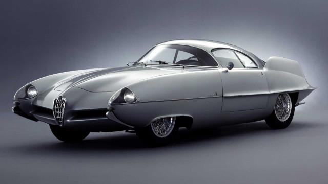 Alfa Romeo BAT 9D konsep oleh Franco Scaglione / Bertone