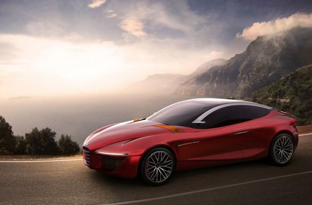 Alfa Romeo Gloria concept - image: Alfa Romeo
