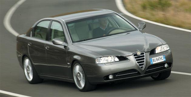 The Alfa 166 was discontinued in 2007, but Guangzhou hopes to breathe new life into the platform