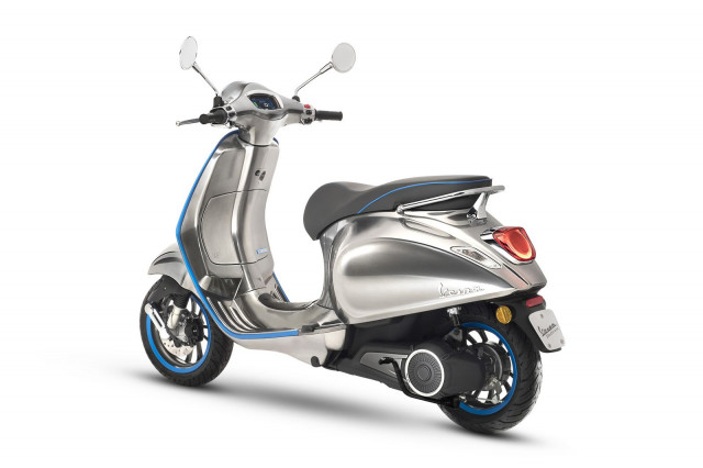 All-electric Vespa Elettrica scooter