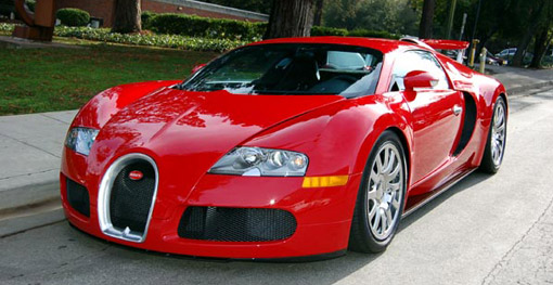 Red Bugatti Veyron For Sale