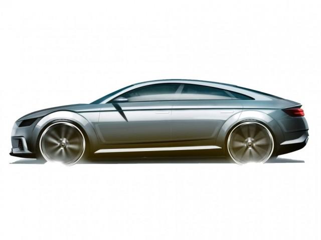 Alleged Audi TT Sportback concept (Image via Auto Zeitung)