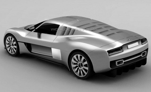 Alleged patent drawings for production Gumpert Tornante supercar