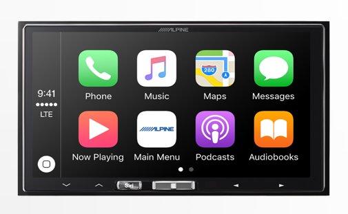 Alpine adds wireless capability for Apple CarPlay