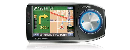 Alpine Blackbird Portable Navigation System