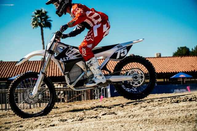 Alta RedBull Straight Rhythm electric motorcycle