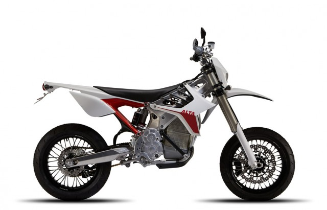 Alta Redshift SM electric motorcycle