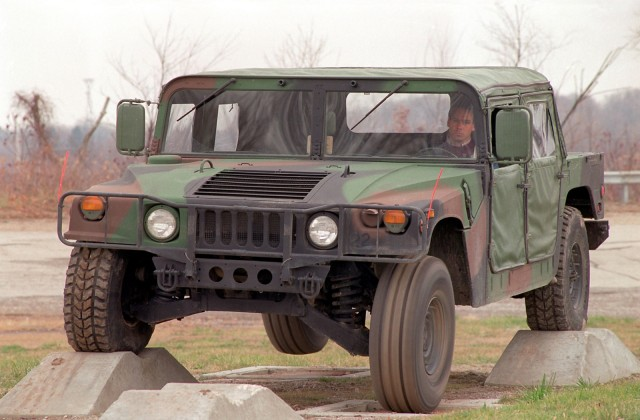 AM General's Humvee, coming soon in kit form