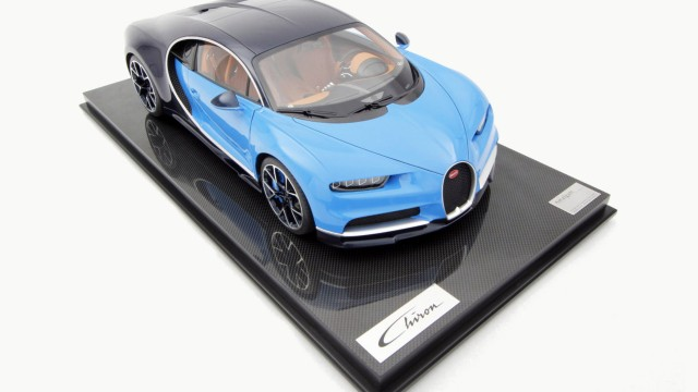 Amalgam Collection created a 1:8 scale Bugatti Chiron
