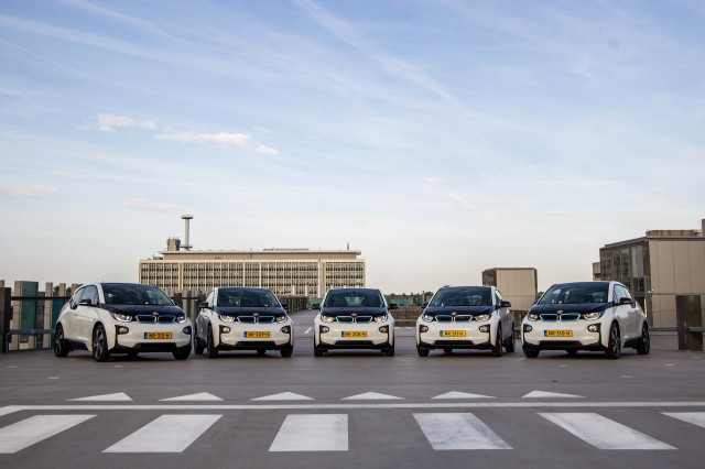 Amber Mobility Platform using BMW i3 electric cars Image: Amber Mobility