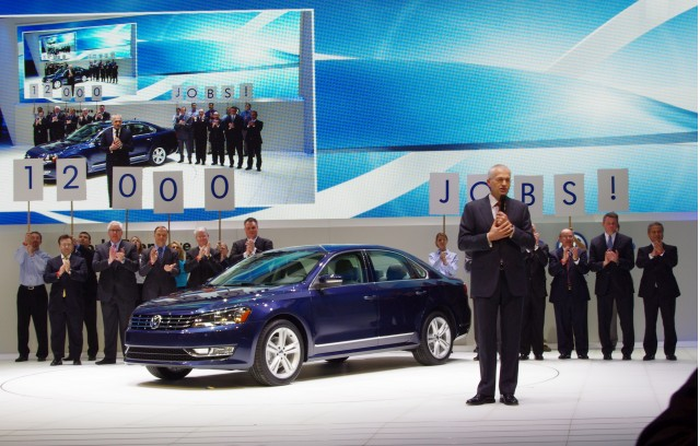 American Theme, VW's 2012 Passat Premiere