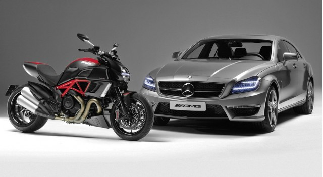 AMG and Ducati announce partnership