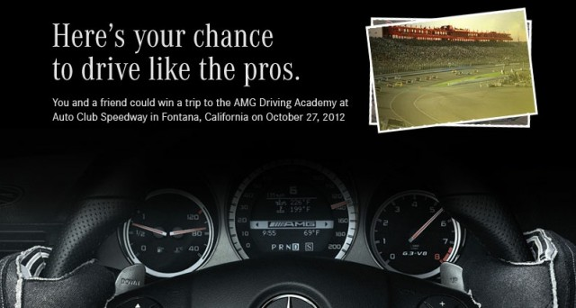 AMG Performance Driving Academy giveaway