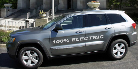 Amp To Bring All Electric Jeep Grand Cherokee To Detroit