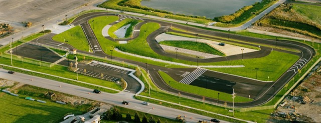 An aerial view of the Naperville test track. Image: City of Naperville, IL