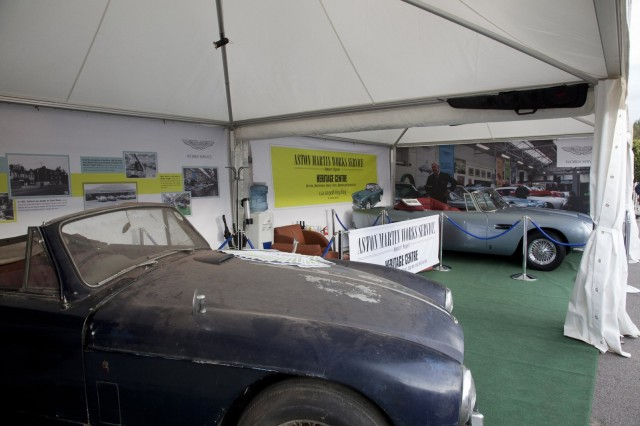 An Aston Martin DB6 awaiting restoration, alongside a restored DB5 - Image: Aston Martin