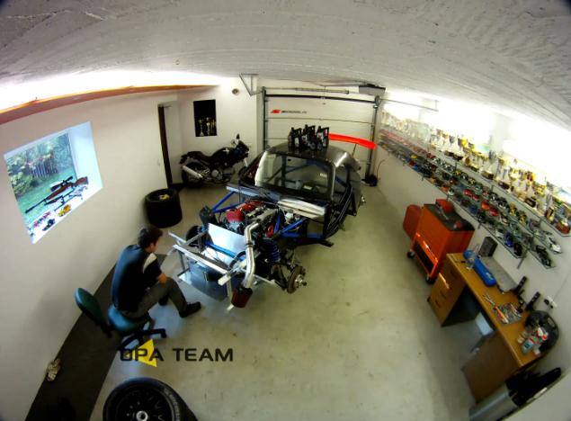 Andrius Firantas builds a Honda S2000 touring car