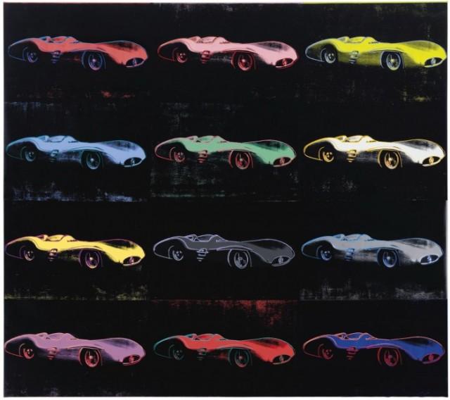 Andy Warhol Mercedes-Benz W196 silkscreen heads to auction.